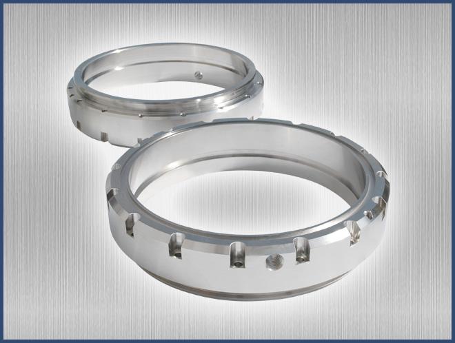 Chrome Hub Ring