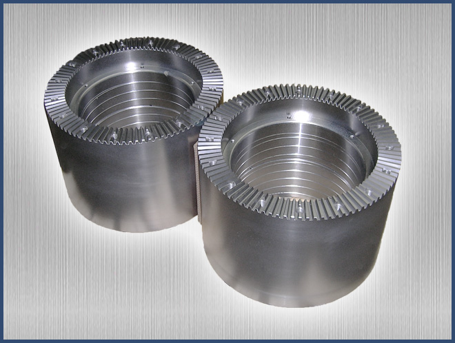 Coupling with Hirth Serration