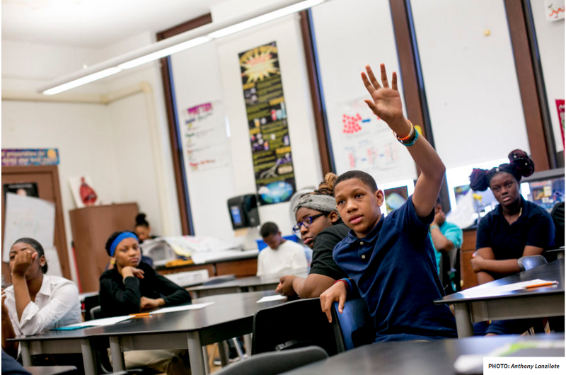 Jamarie Samuel, who attended seven Detroit schools by eighth grade, is featured in an investigative project by Chalkbeat and Bridge Magazine on chronic school transience. Photo courtesy of Chalkbeat.