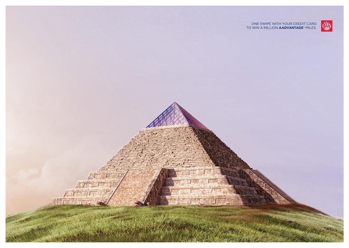 The Louvre • Giza • Chichen Itza