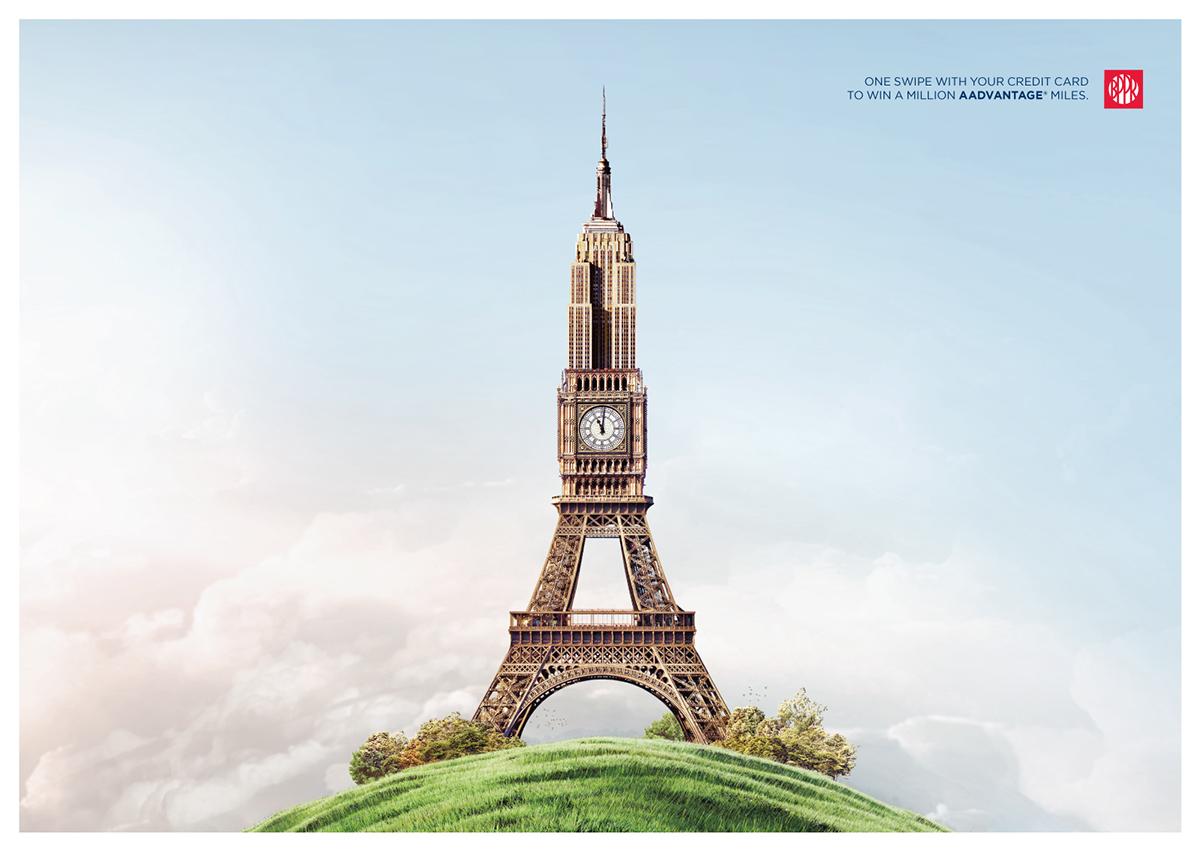 Empire State Building • Big Ben • Eiffel Tower