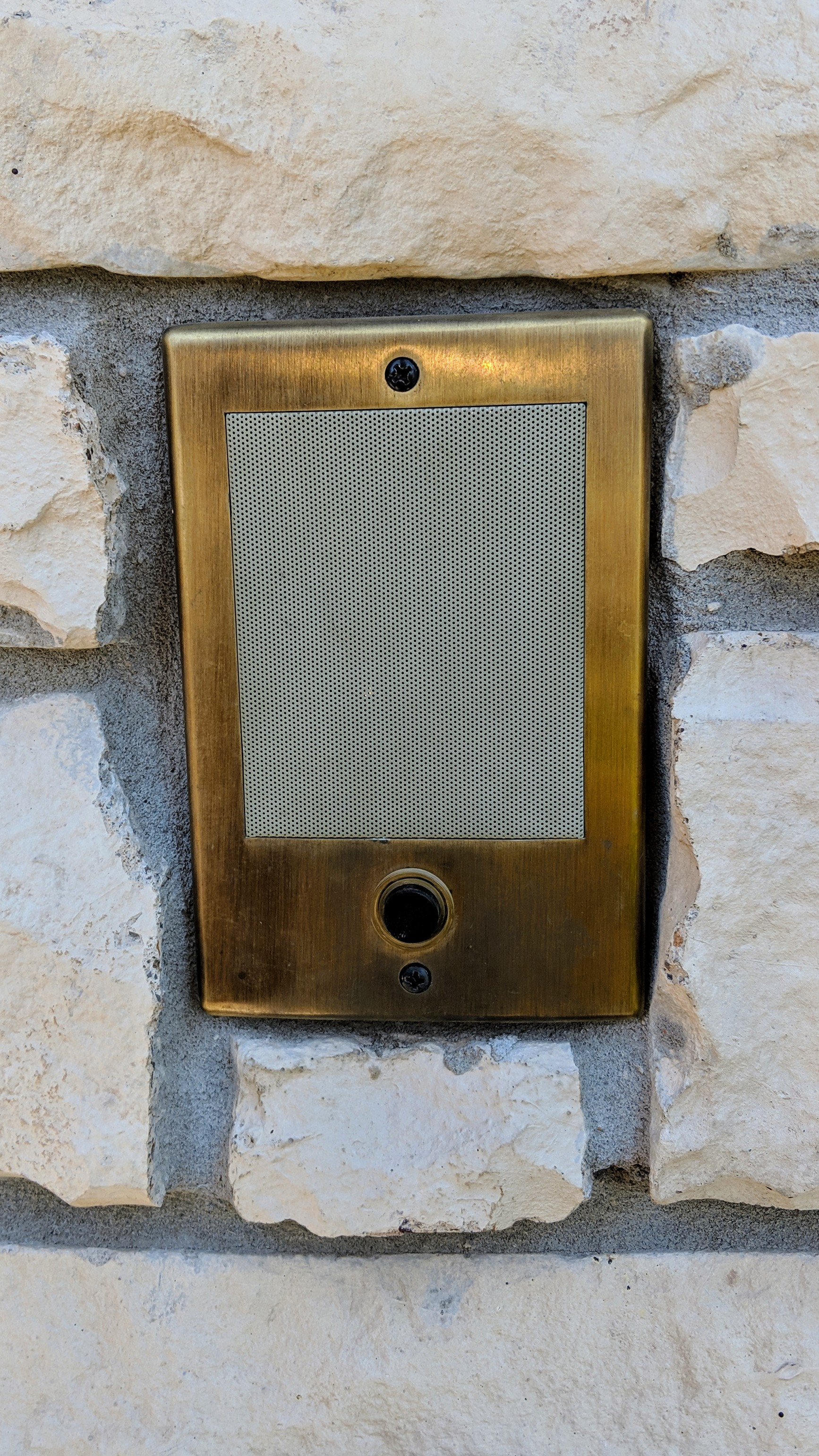 Have one of those fancy Intercom Systems but would now like a Video Doorbell at your front door? -