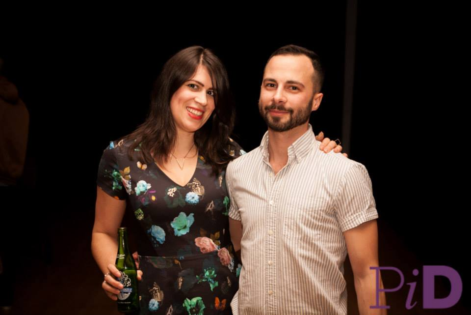 The evening's talented hosts, Dina Del Bucchia and Daniel Zomparelli.