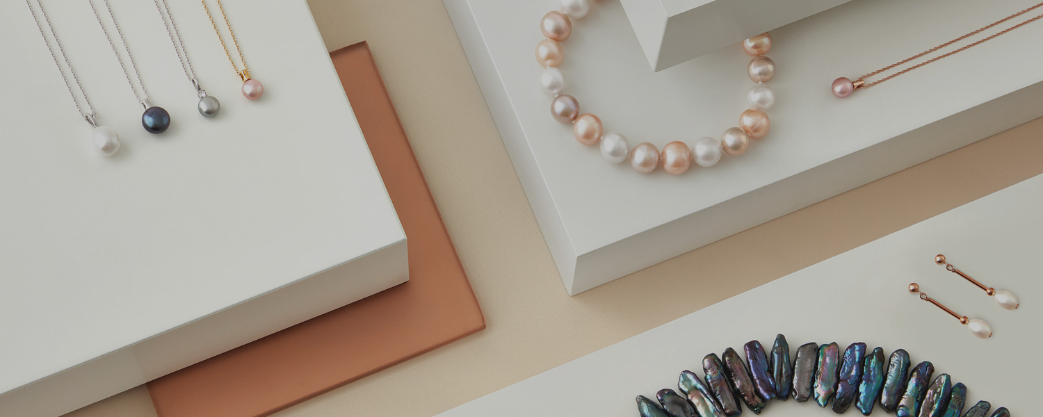 GENUINE PEARL JEWELLERY -