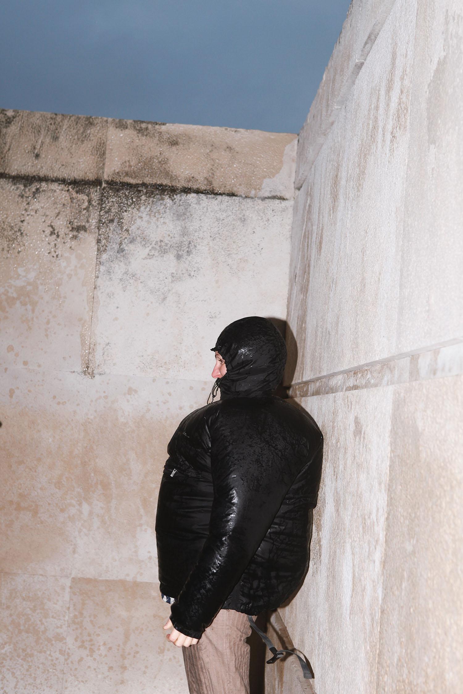 Justine Guerriat Microcosm series Jacket Rain