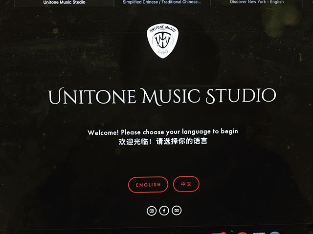 Our website back to live now! What's new? - English / Chinese language to choose - New look! - Clean, Modern, Easy to use Luckily I only spend 2 days to restructure of the website:) www.unitonemusic.com What's Next? - ???? - ???? Ha, stay tuned! - Siga @unitonemusicstudio . . . #bestwebsite #deanzacollege #foothillcollege #sjsu #cupertino #bayarea #音乐 #音樂 #音楽