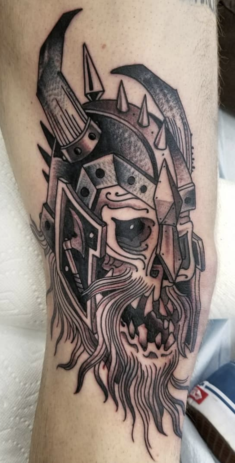 Jeff Pickens - Old Foxx Tattoo