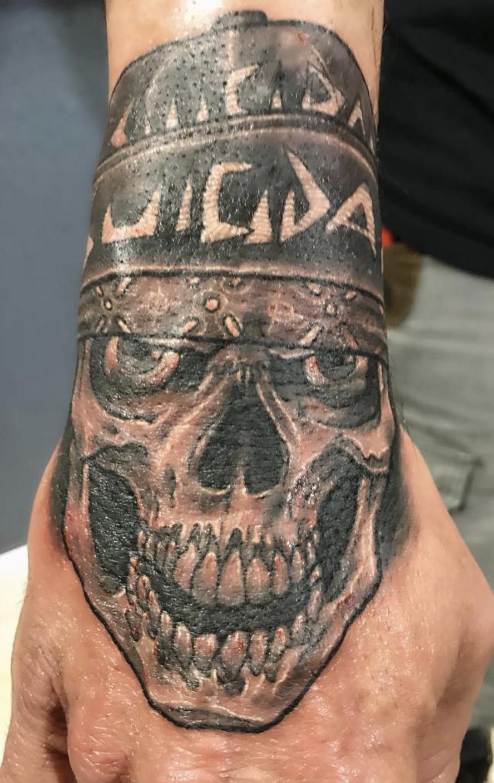 Daniel Duran - Don't Tell Mom Tattoo