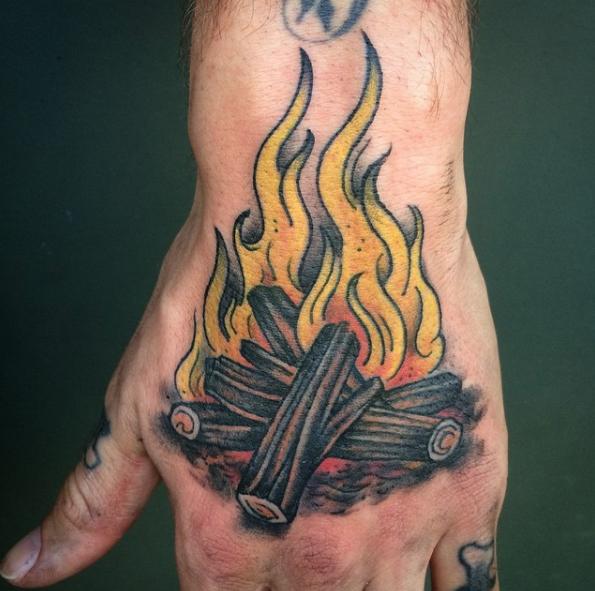 Benjamin Barnhart - Scapegoat Tattoo