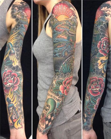 Khalil Linane - Iron Mountain Tattoo