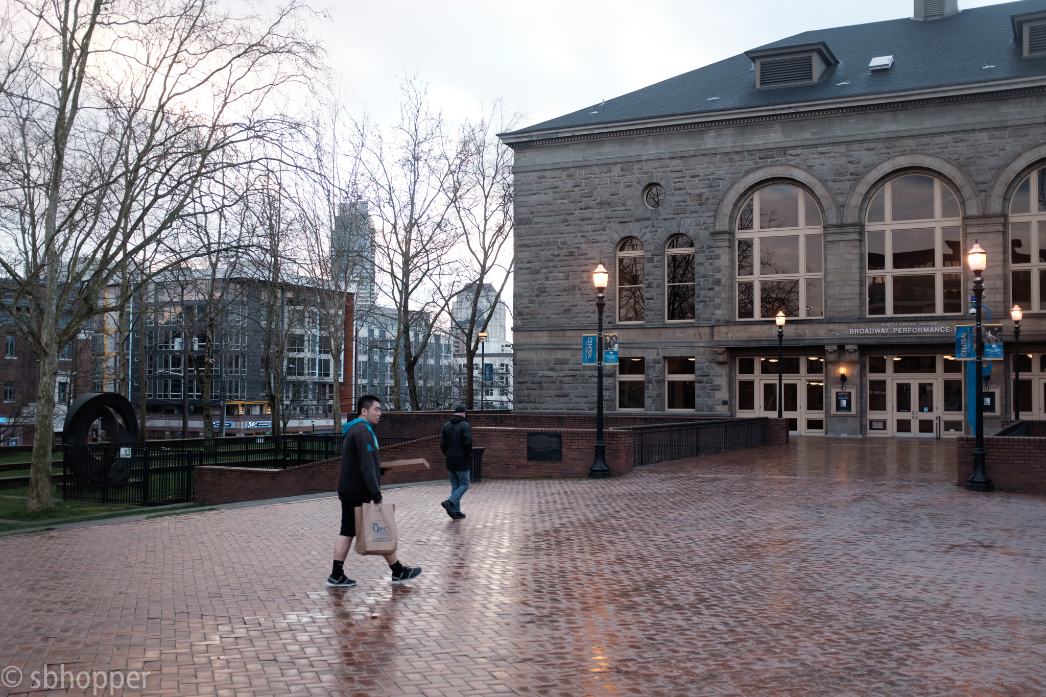 Seattle Central College, Broadway Performance Hall, Capitol Hill, Seattle, March 2018.