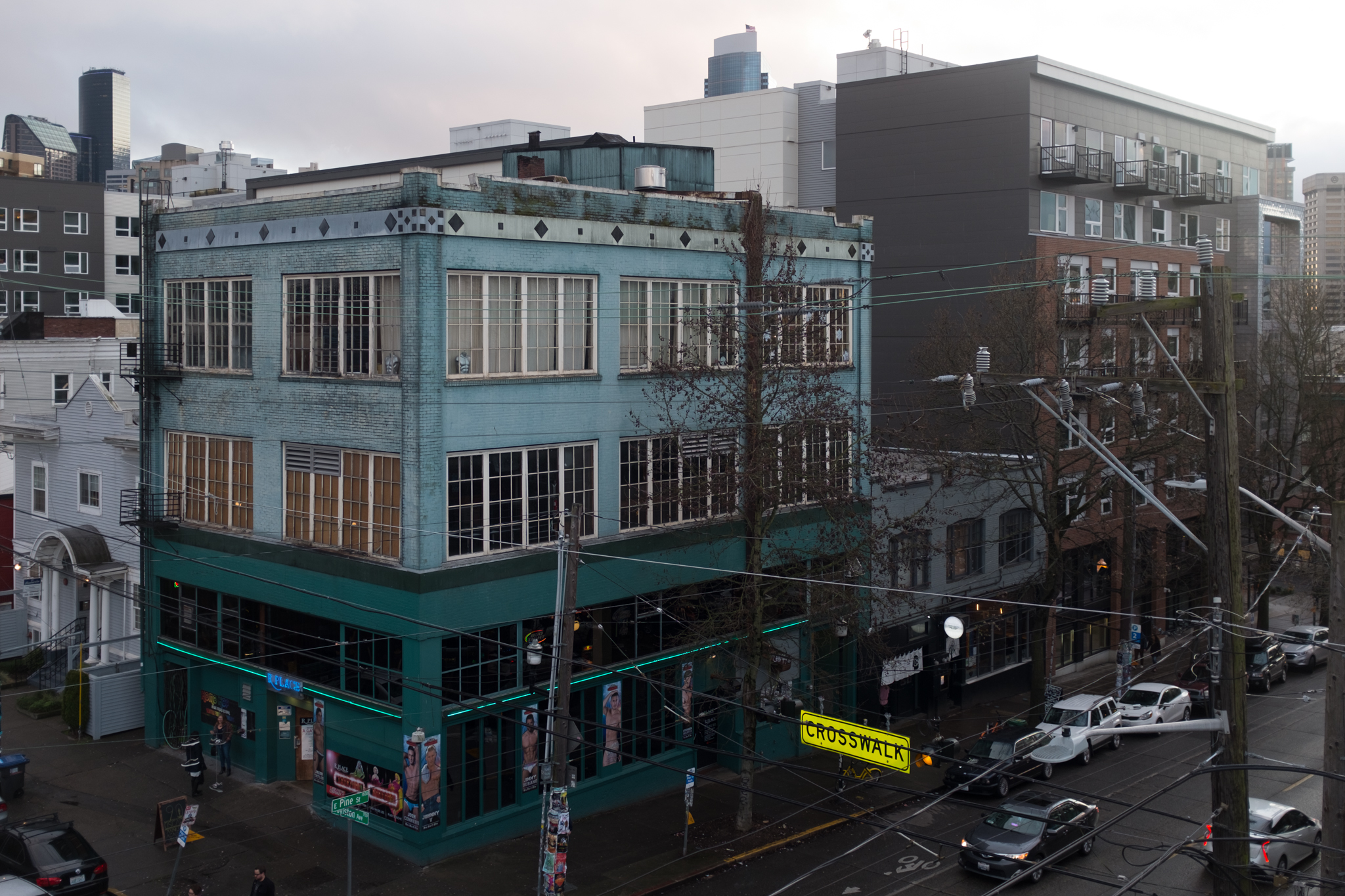 Capitol Hill, Seattle, March 2018.
