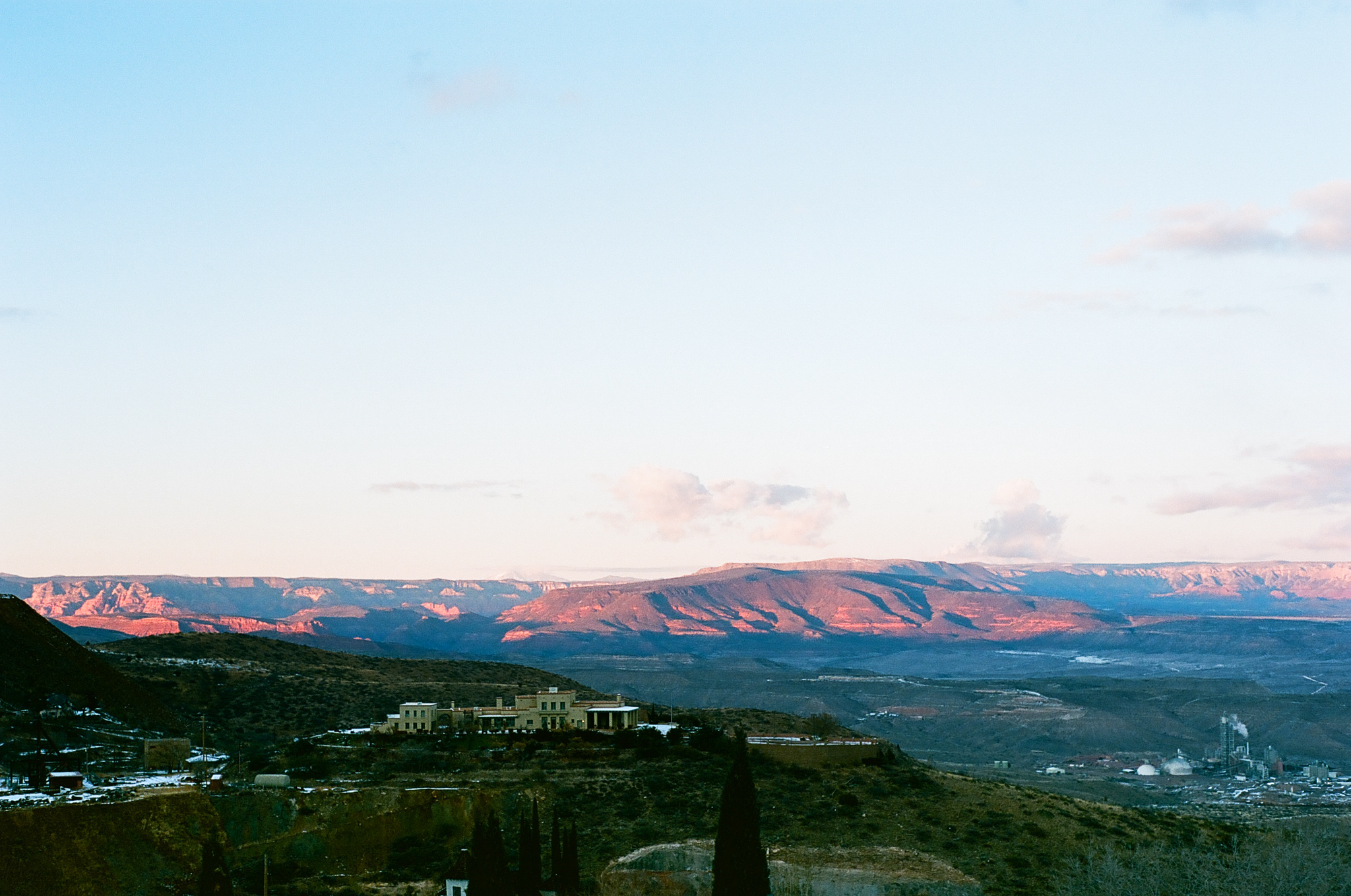 Jerome, Arizona, January 2019. I can't remember if I shot this on my Pentax K1000 or Olympus XA.