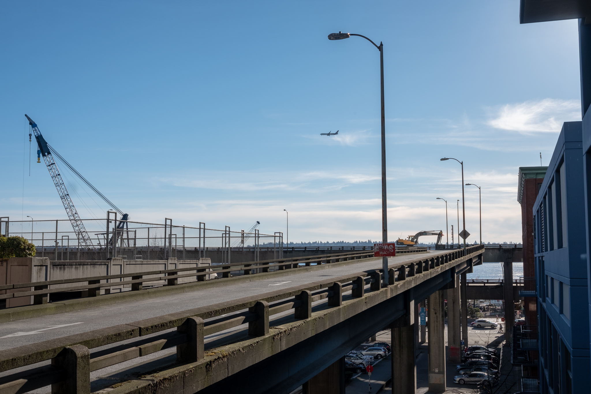 Seattle, March 2019. Merged image from Lightroom with a few minor edits.