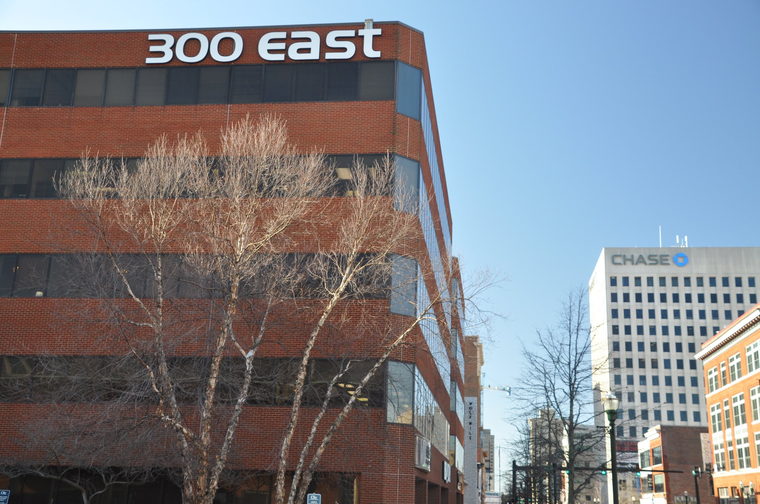 300 East Main Street in Lexington, KY.  Location of Devine & Dominick, PLLC.