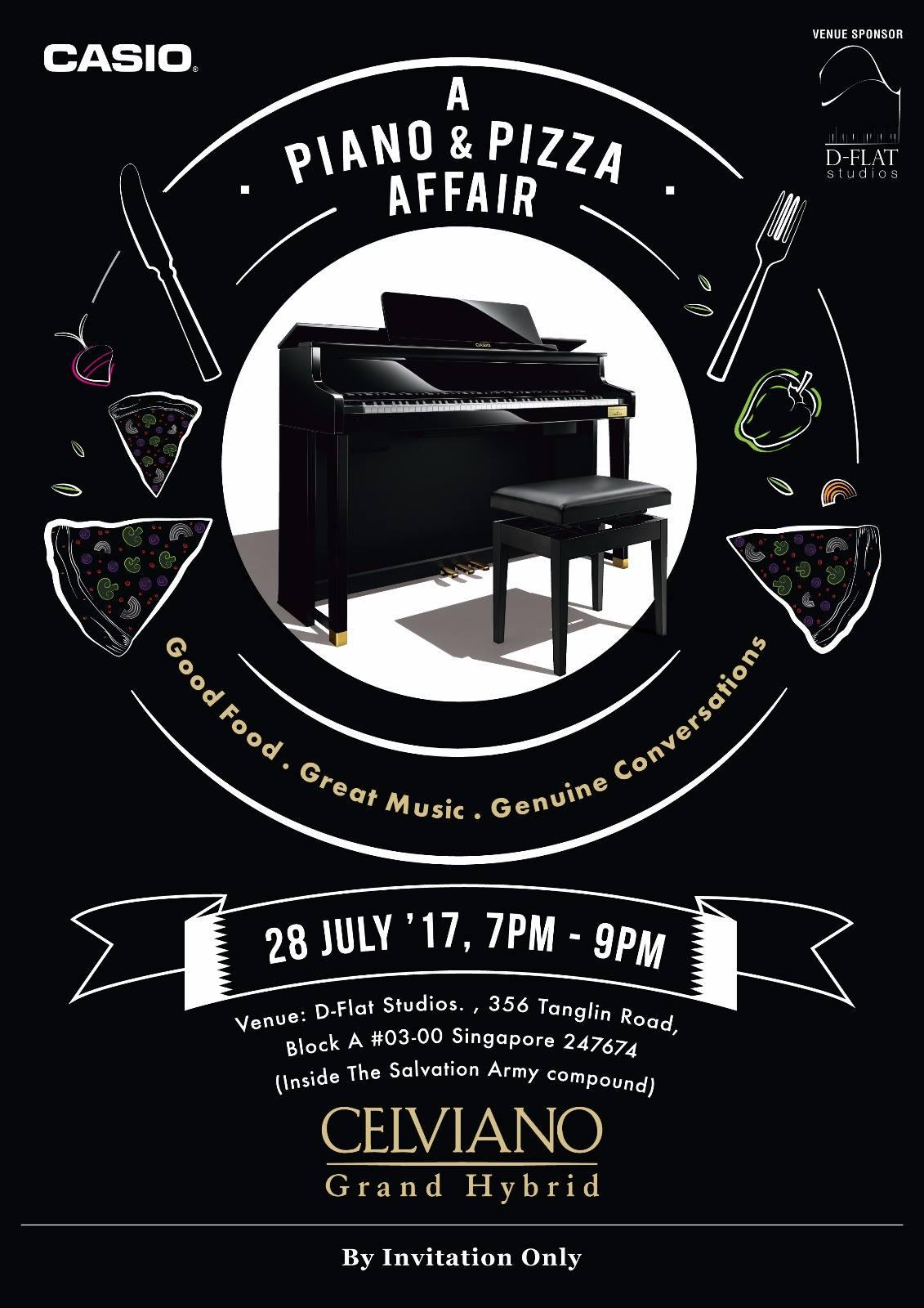 Piano & Pizza - 28th July 2017