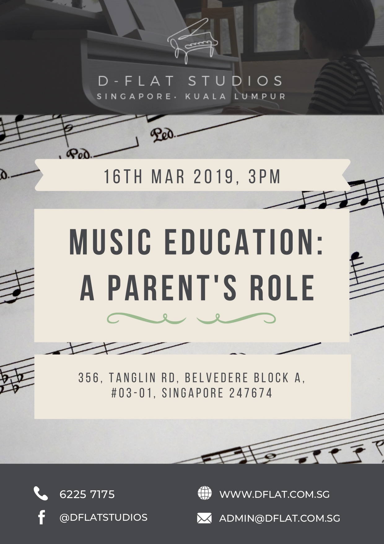 Music Education: A Parent's Role - 16th Mar 2019