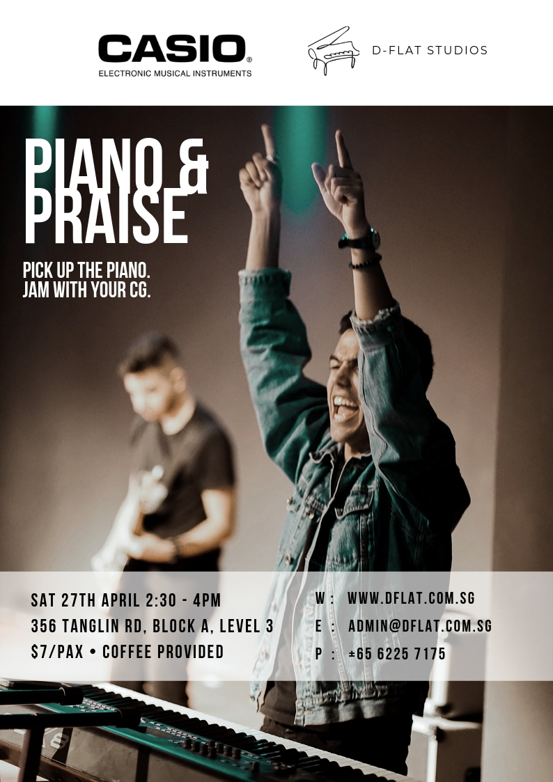 Piano & Praise - 27th Apr 2019