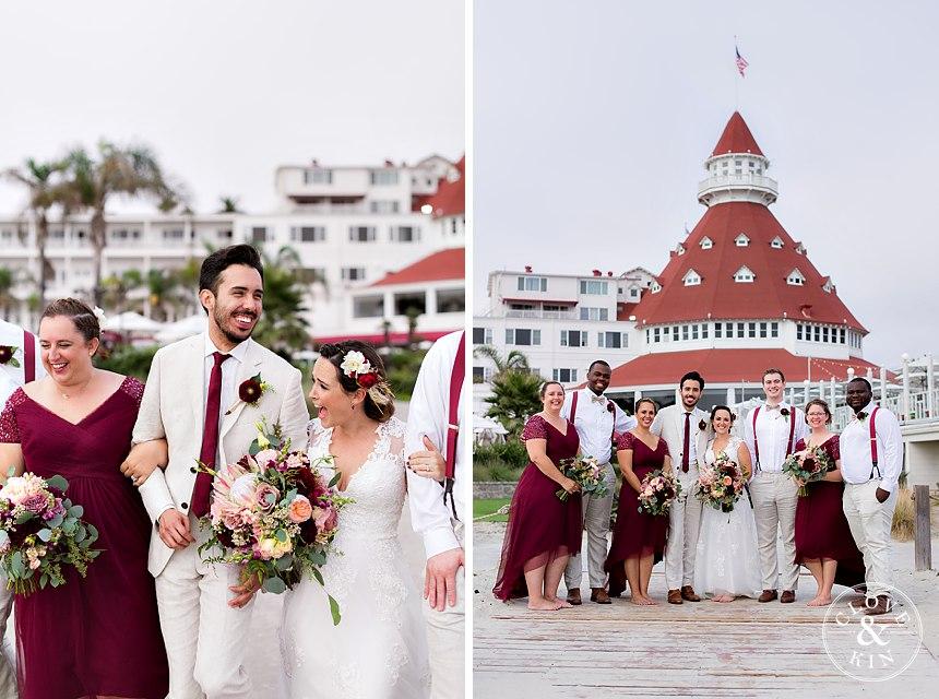 a hotel del coronado bridal party .jpg