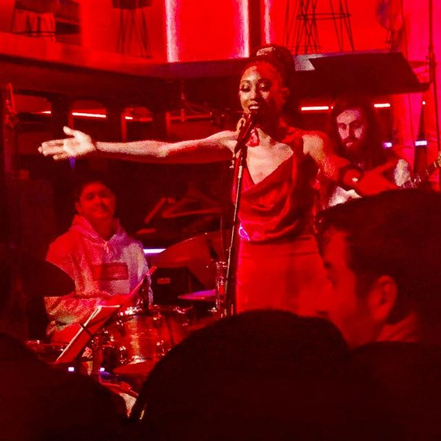"""Tahira Clayton. Record release @Nublu nyc.  New album called """"Wait,  Till now"""" Check it out!! Beautiful job done by Tahira Clayton  and her wonderful band."""