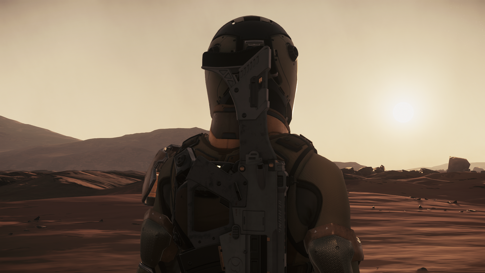 While beautiful and captivating, scouting locations on Daymar is a painstakingly long task requiring a lot of hours.