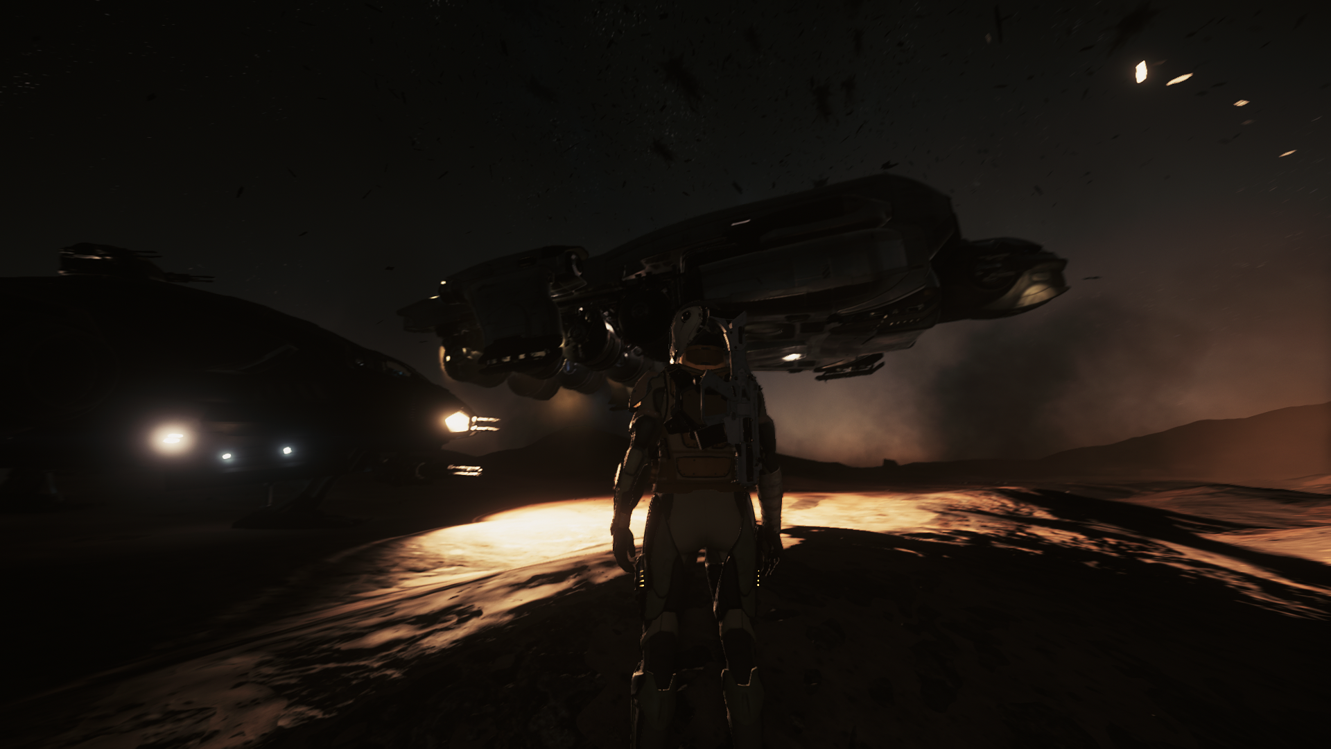 Daymar Rally teams will need to rely on their own resources for their logistical needs. Refuelers like the Starfarer will play an important role!