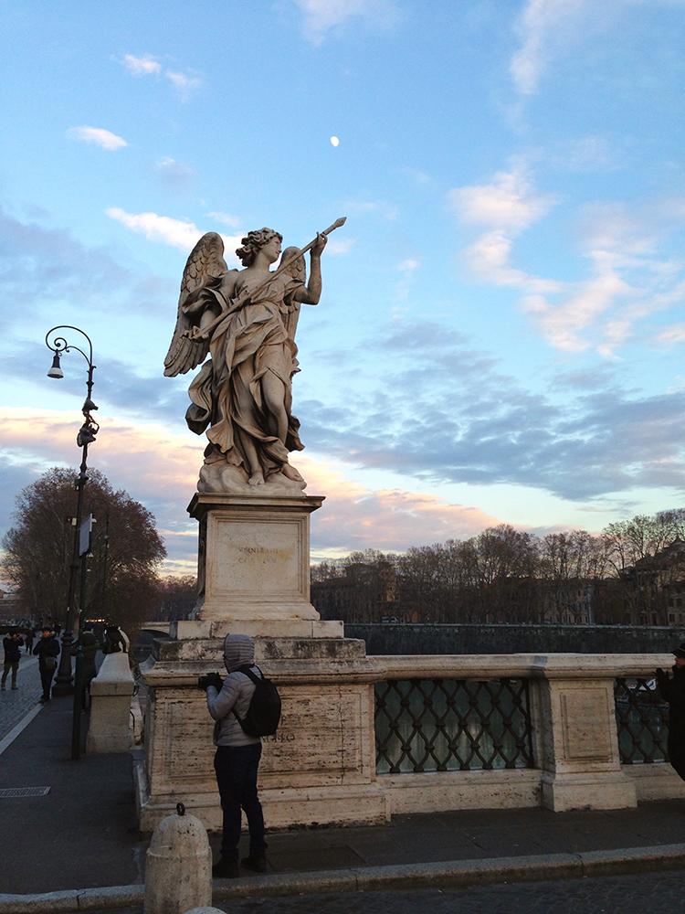 Statue on Ponte Sant'Angelo