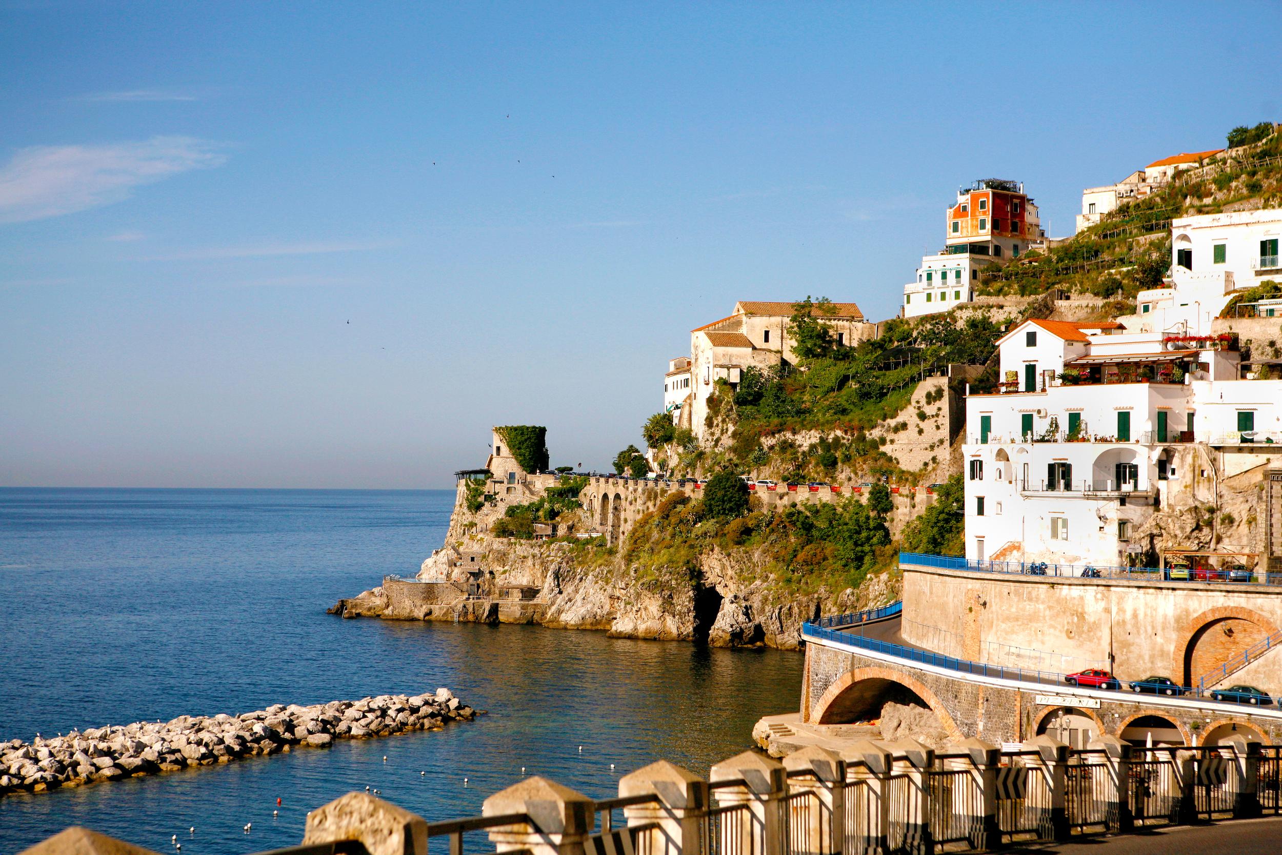 Almafi Coast, Italy.