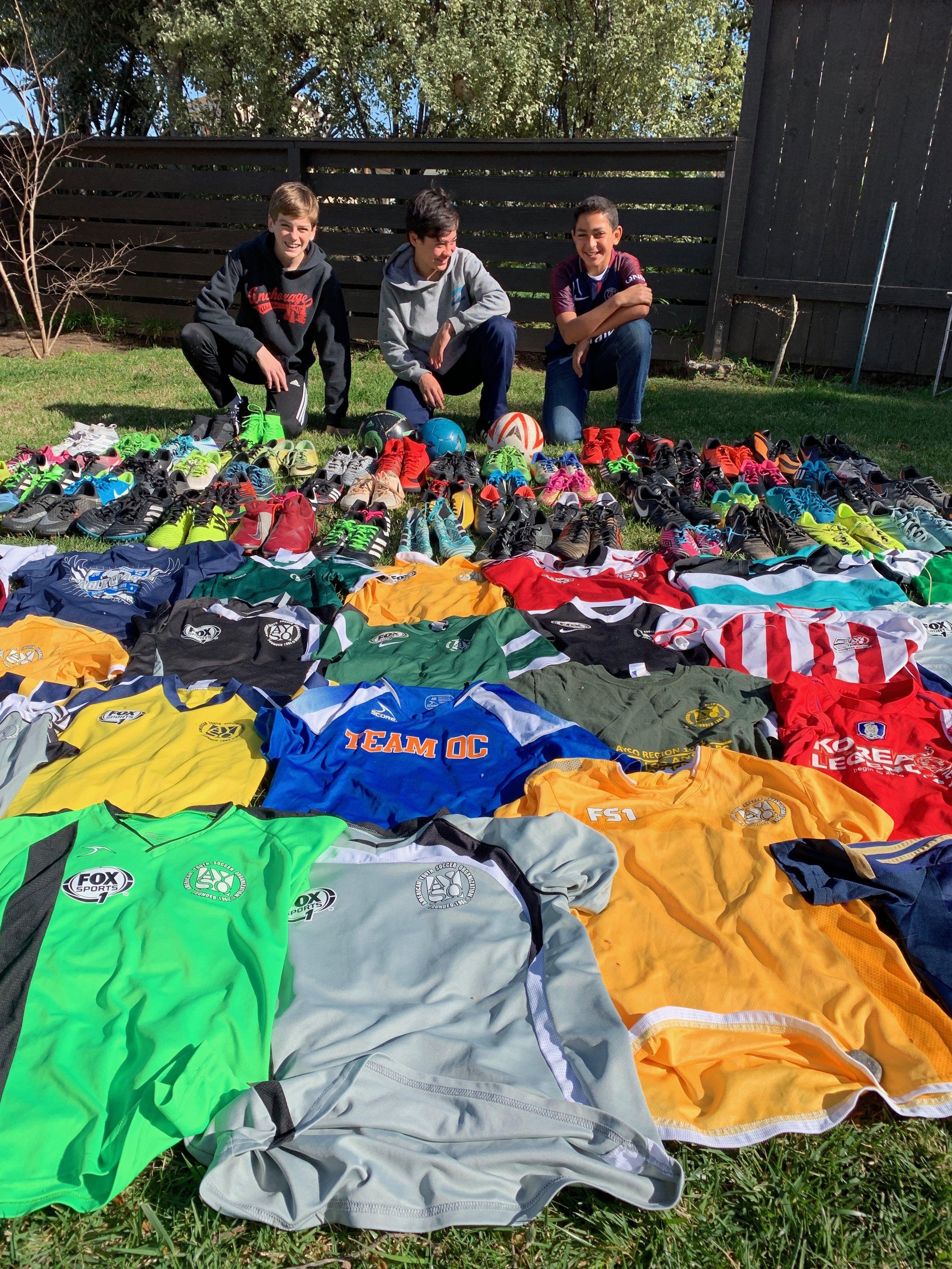 Soccer Equipment for Ghana — Nartey Sports Foundation