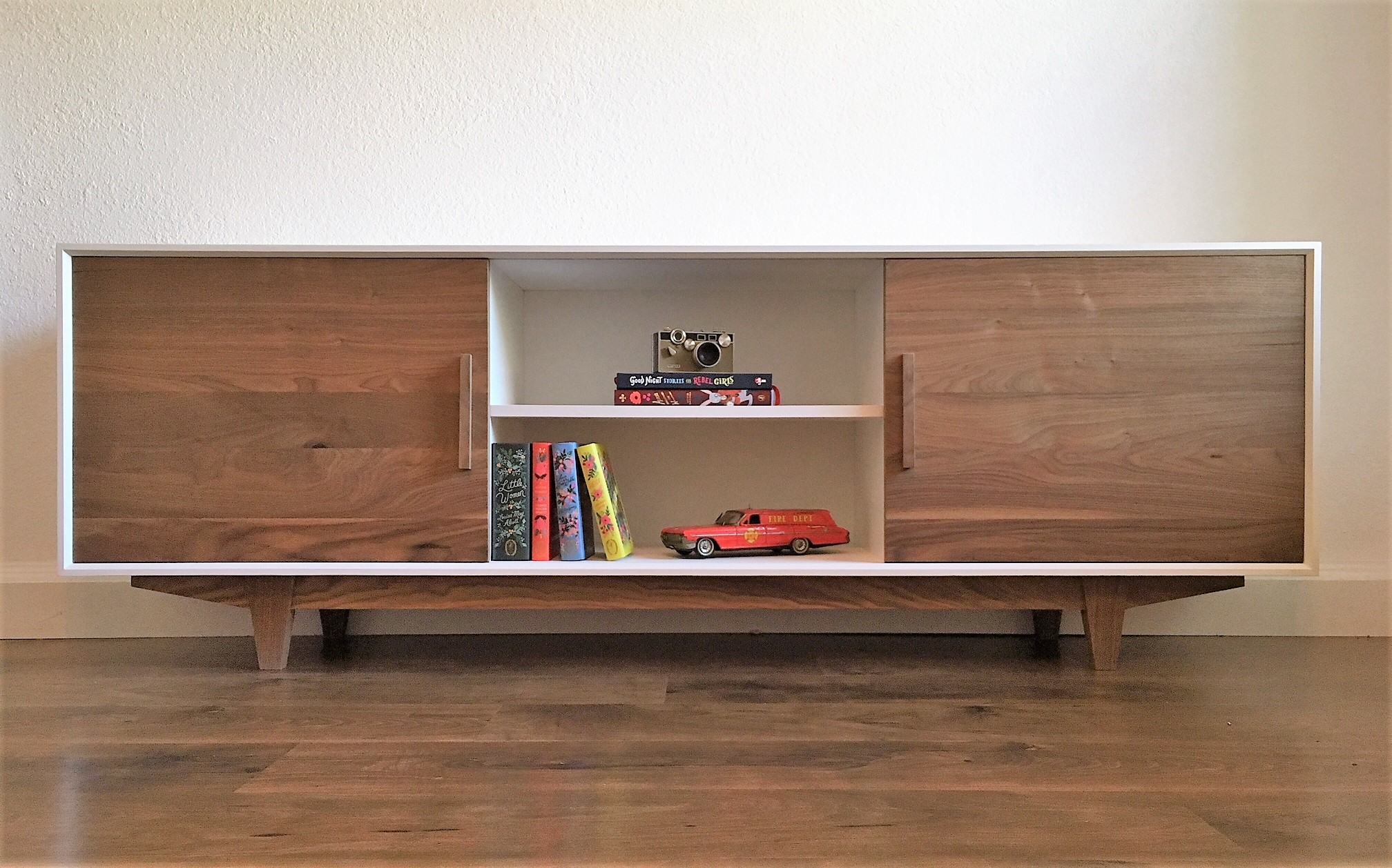Alamo Design Co Tampa FL Custom Furniture Mid Century Console Front View.jpg