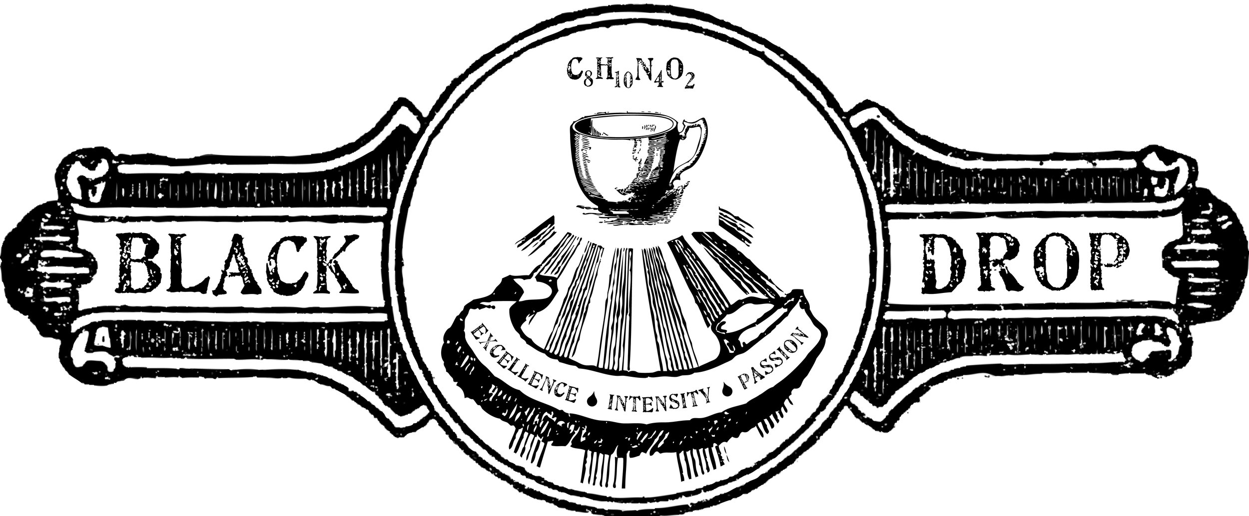 Black Drop Coffeehouse Logo
