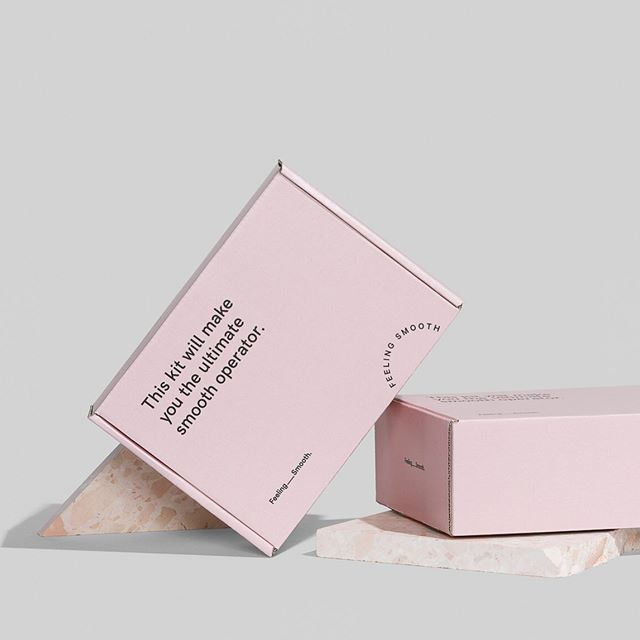 A bit of blush goes a long way. New at-home facial kits for @feelingsmooth.  Photography @foliolio  Stone in Pavlova by @fibonaccistone