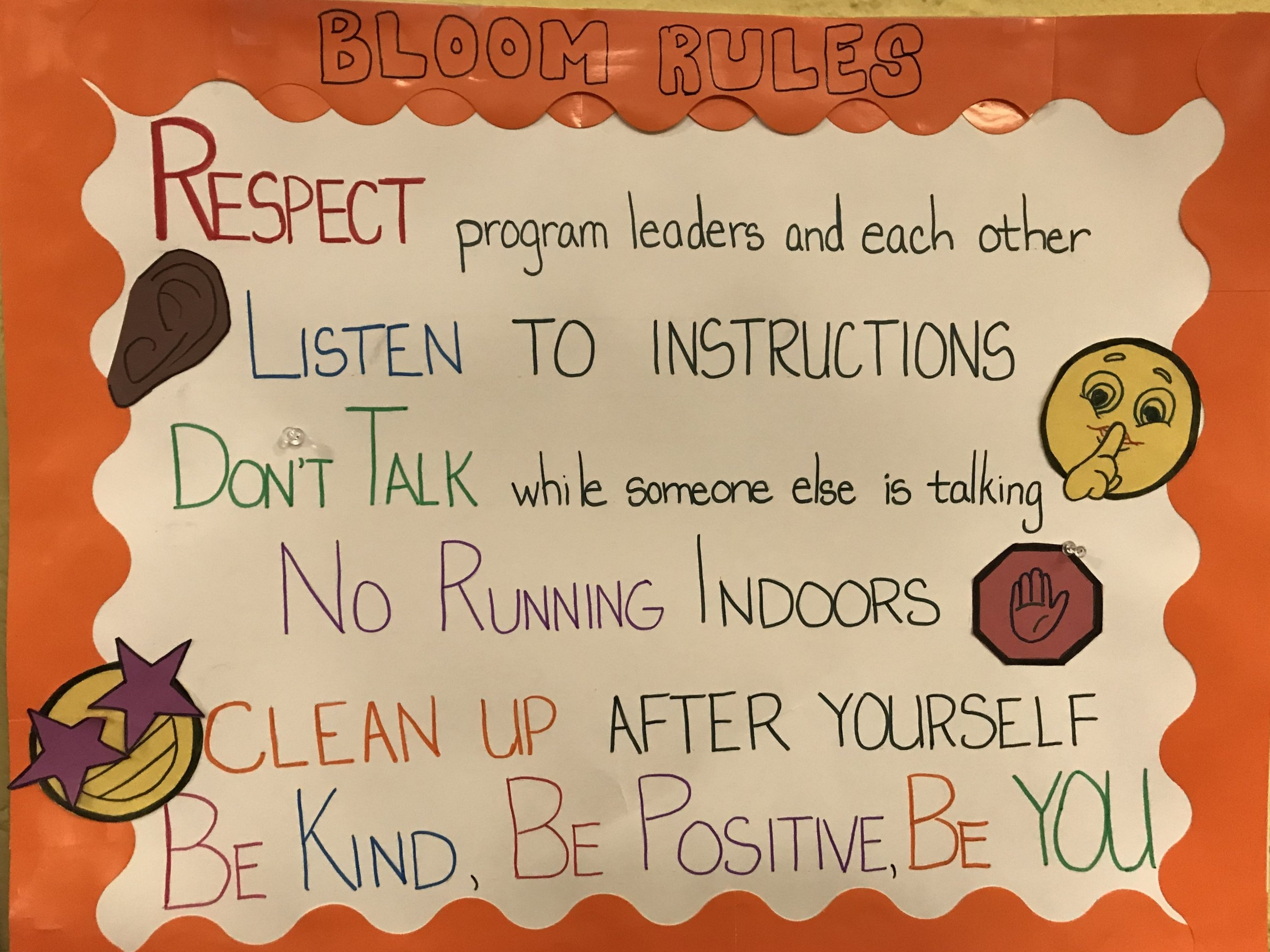 BLOOM Rules