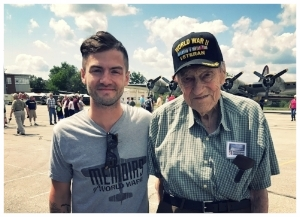 Memoirs of WWII creator Joshua Scott  with B-24 gunner Tom Straight