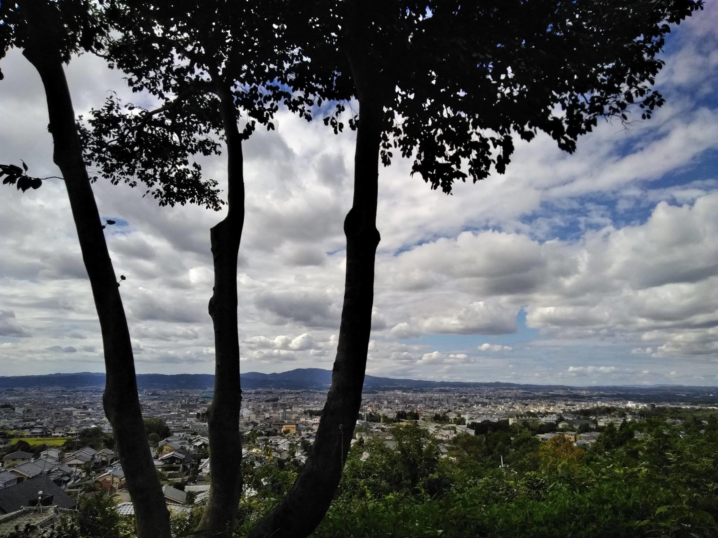 The view from Byakugoji