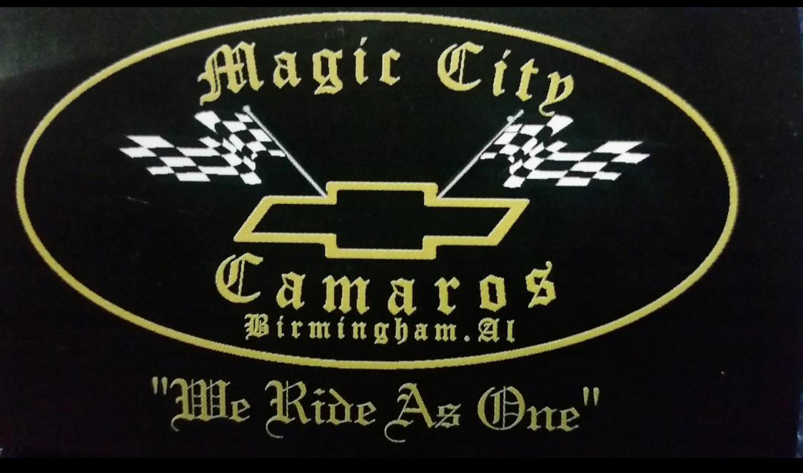 THe Magic City Camaros Club of Birmingham