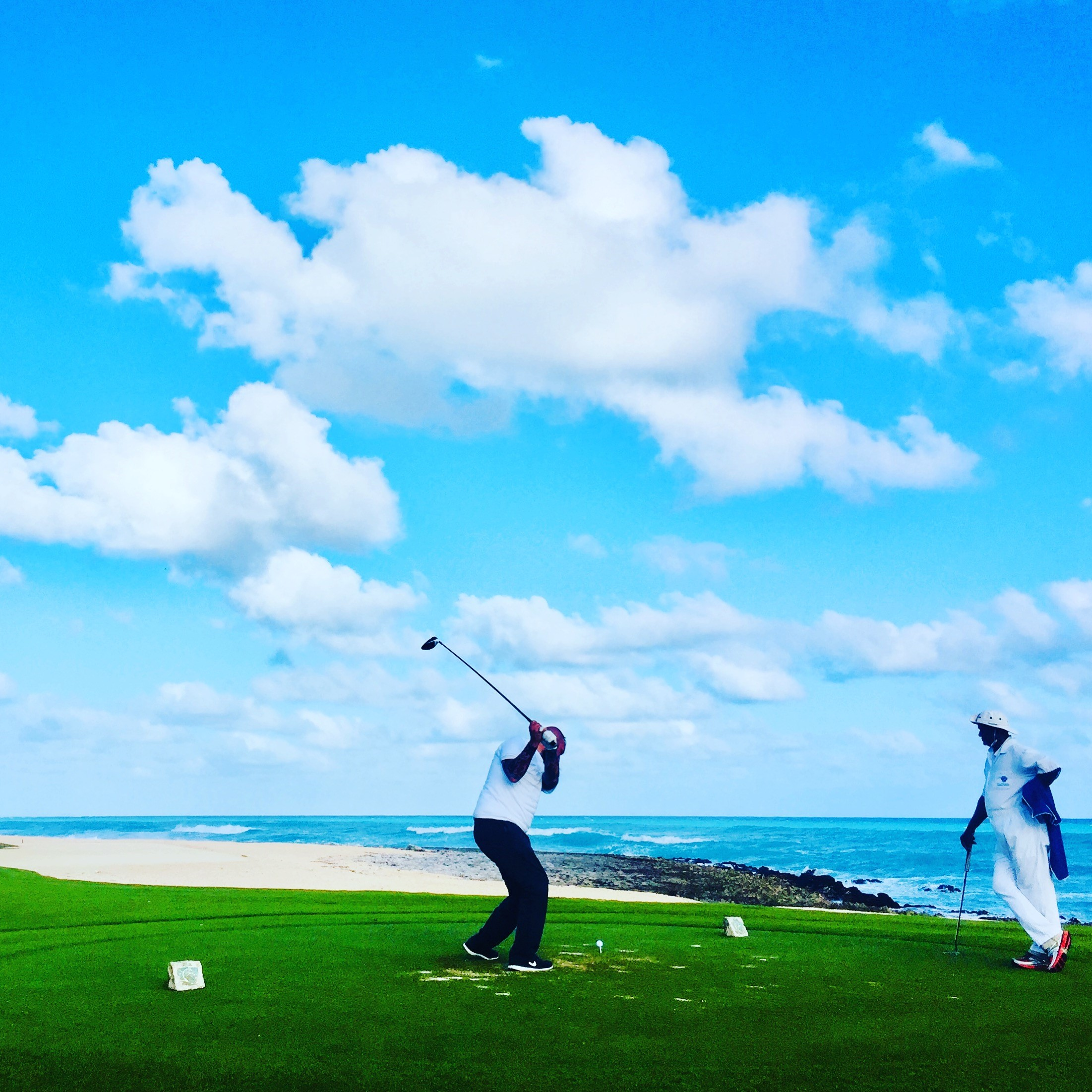 Team Golf Outing in the Caribbean