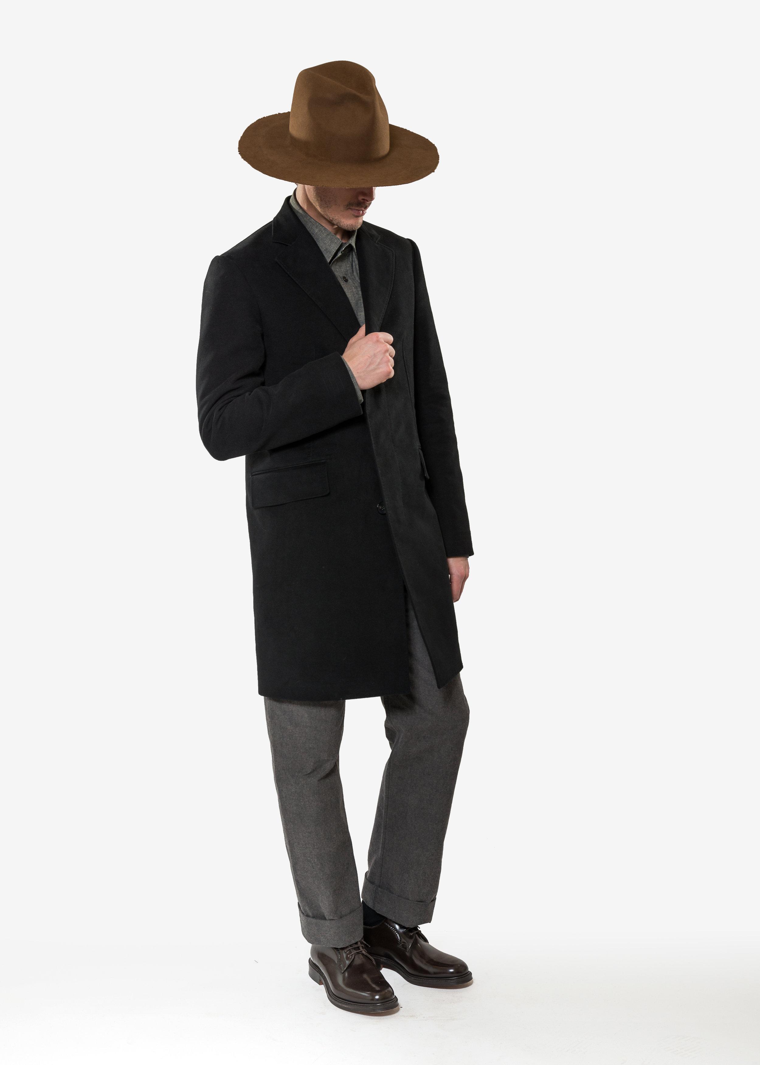 Mr Smith Paris AW18 - Loden Coat