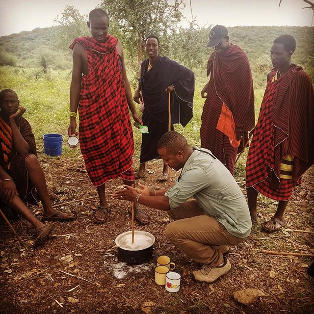 Sylvester will bring you to the Laiboni massai village to learn how to make traditional herbal medicines!