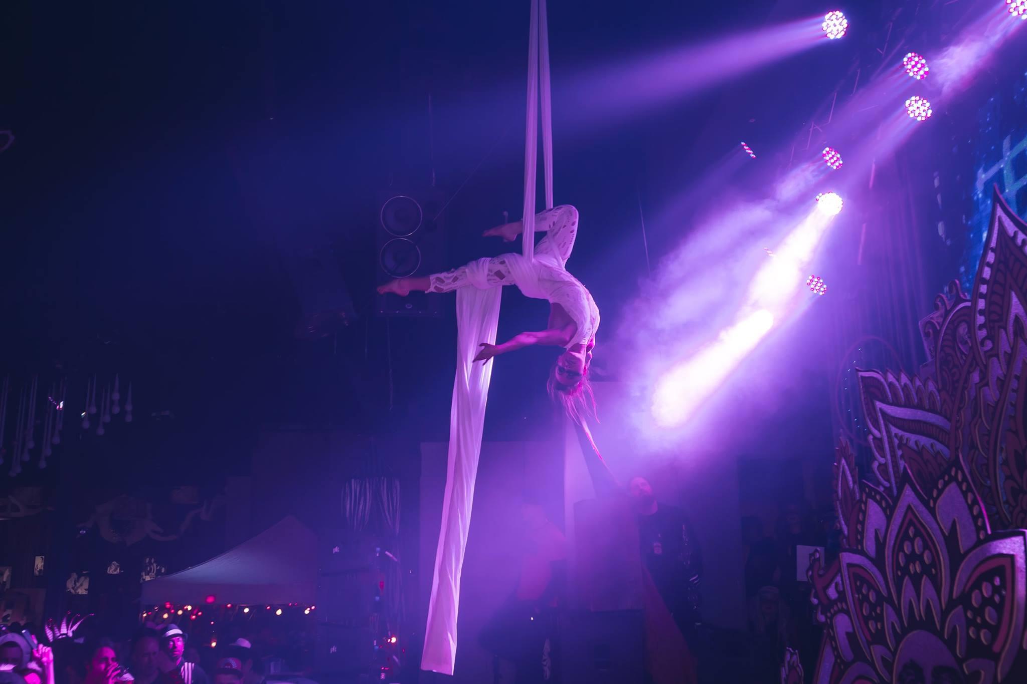 Photo from FreQ Magazine, Cirque de la Nuit's Musique, 2017