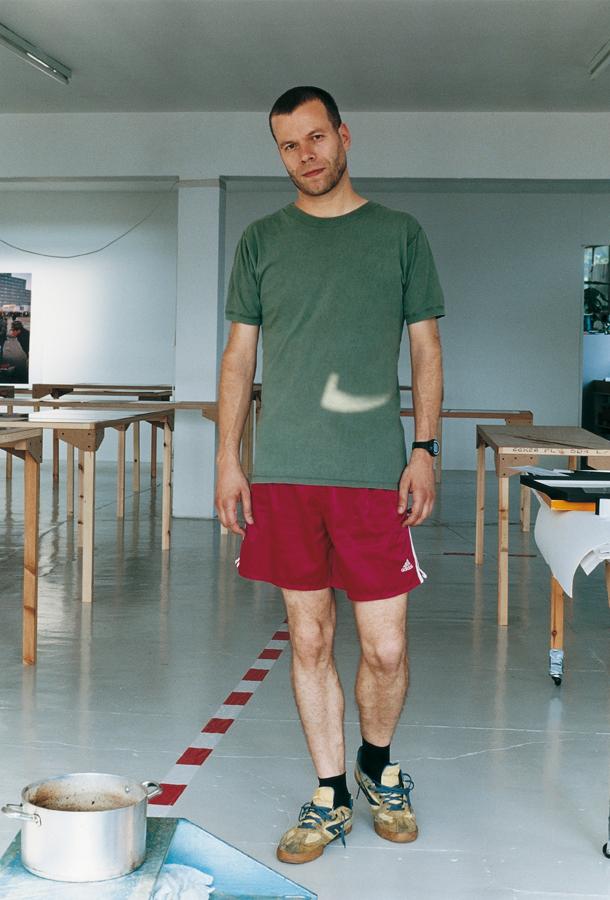 Wolfgang Tillmans,  August self portrait , 2005
