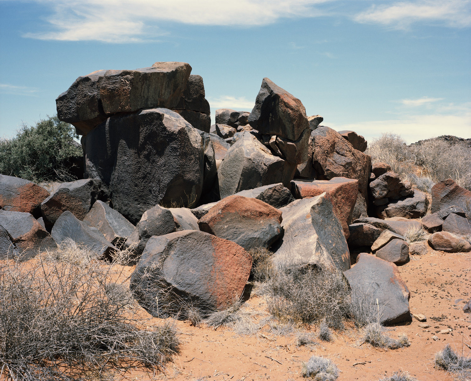 BLACK ROCKS # 1, BETWEEN CALVINIA AND WILLISTON, NORTHERN CAPE