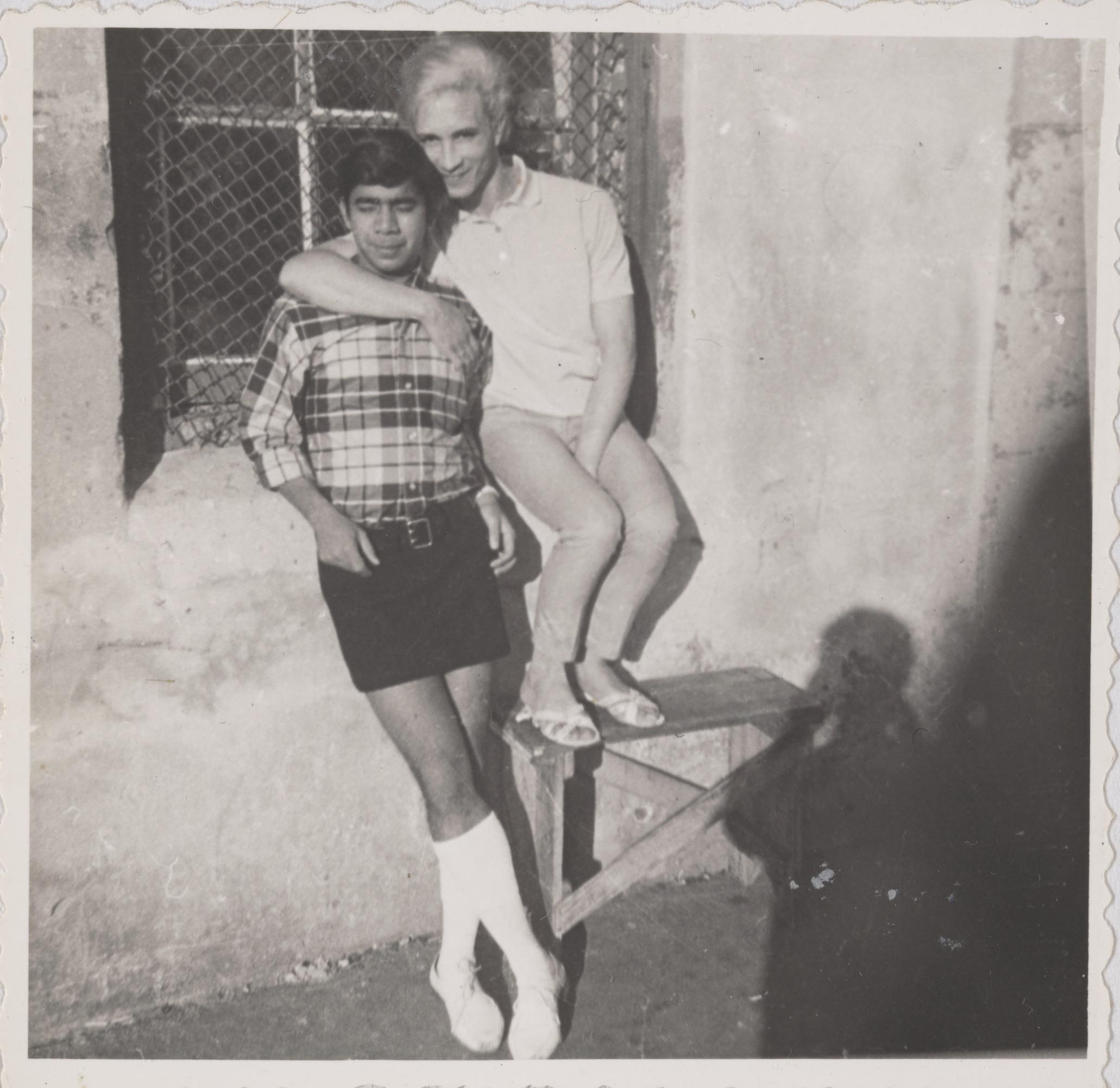 Brian and Kewpie on Rutgers Street (1)