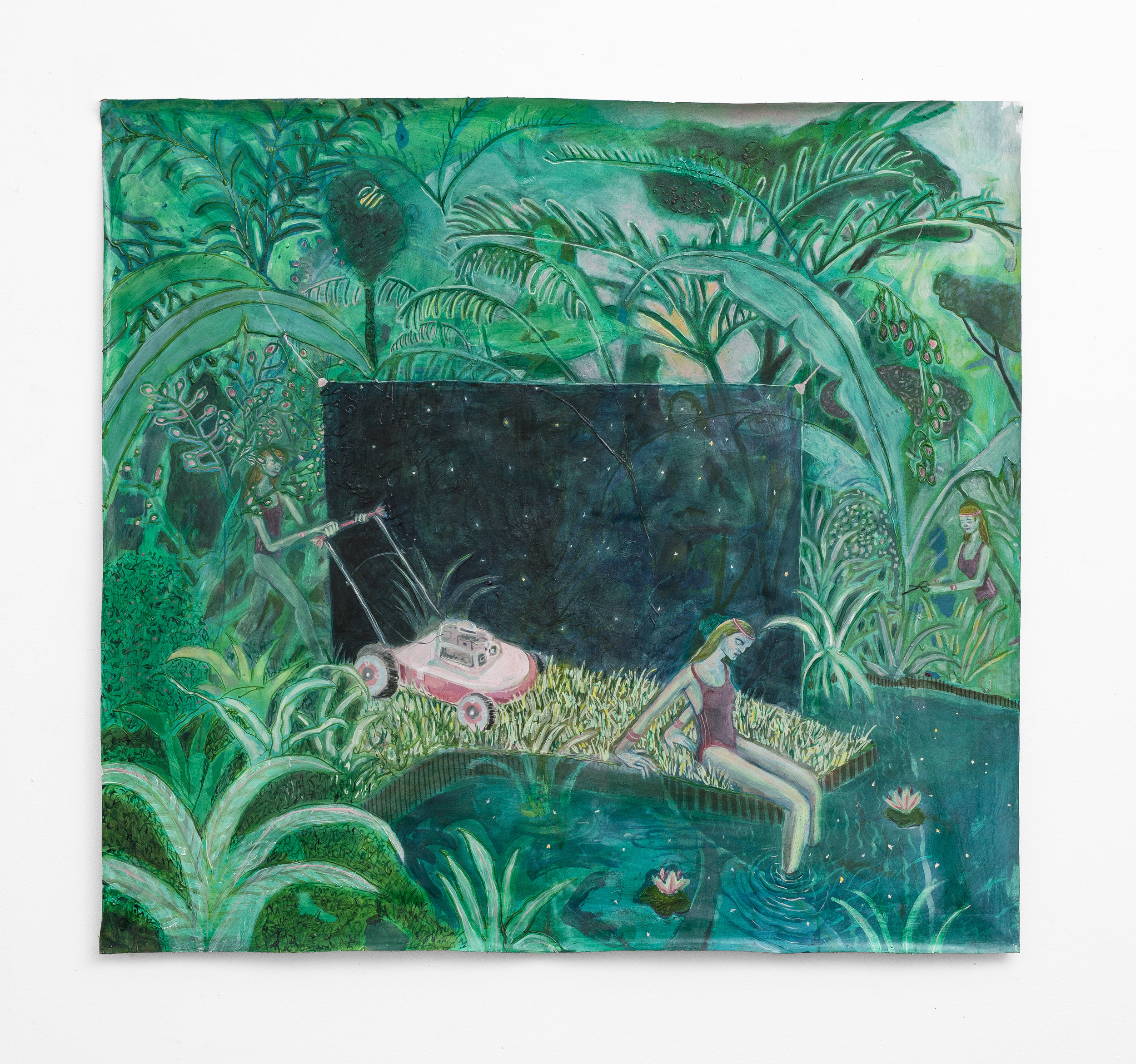 Marlene Steyn,  lawn mow her some me-time  (2018), SMAC.