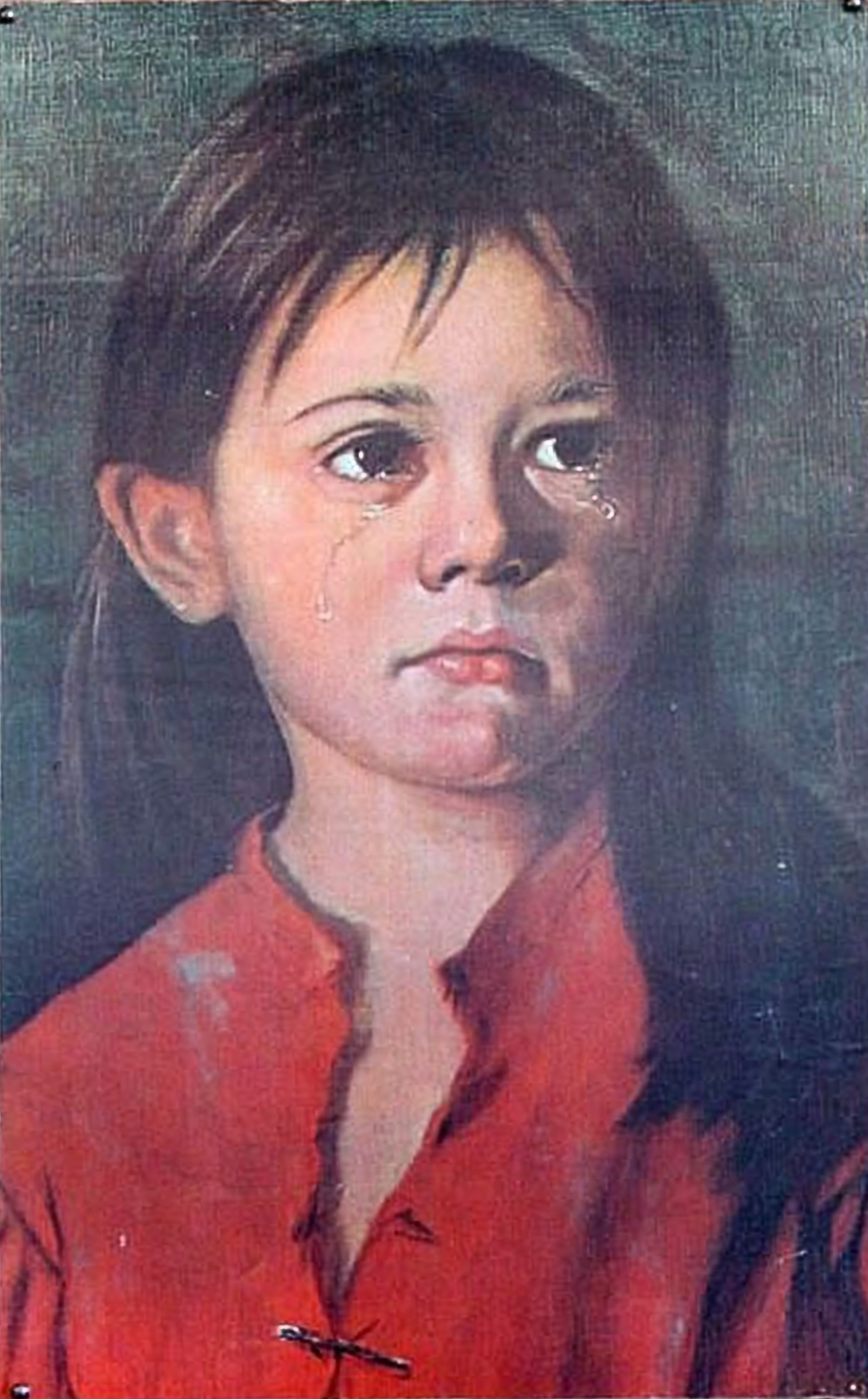Giovanni Bragolin,  Crying girl  (datum onbekend)