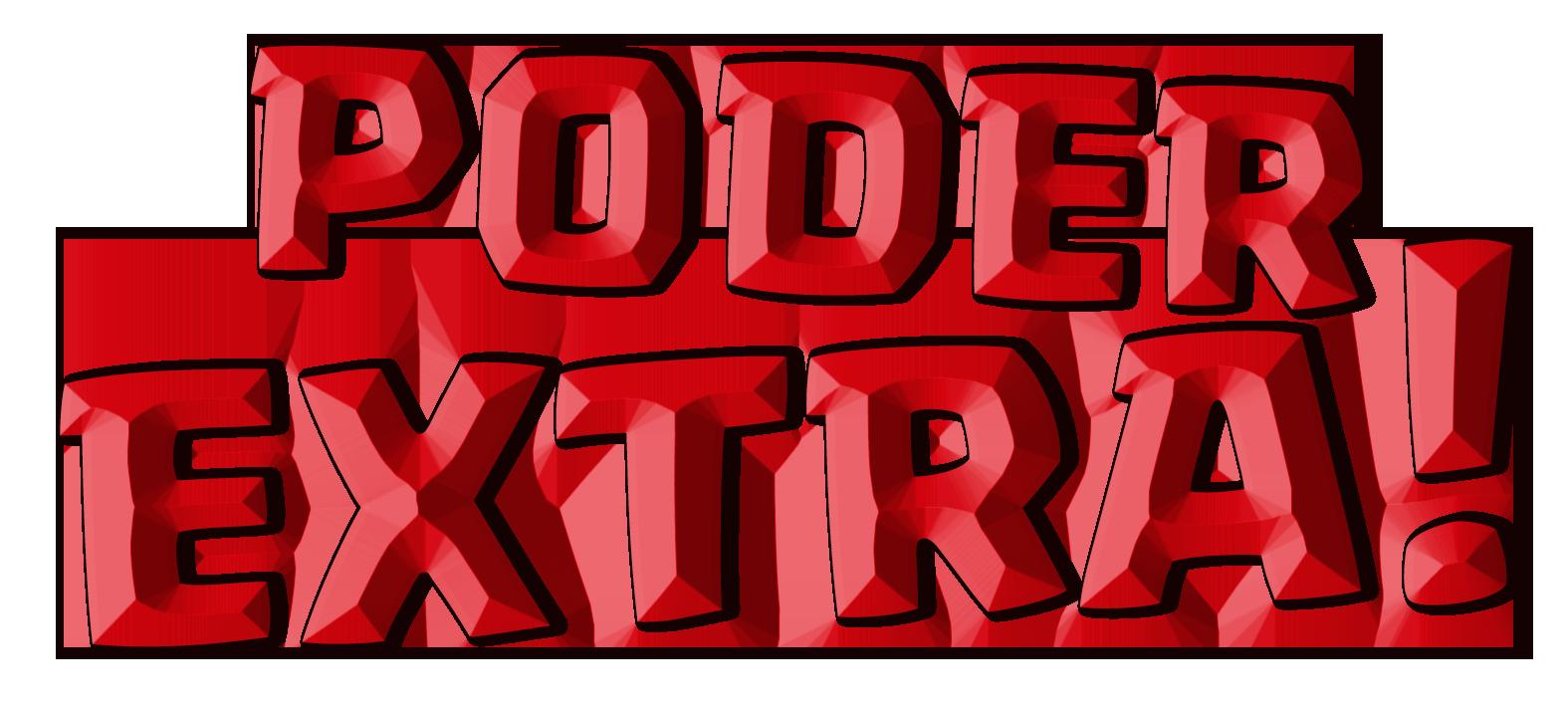 logotipo de poder extra