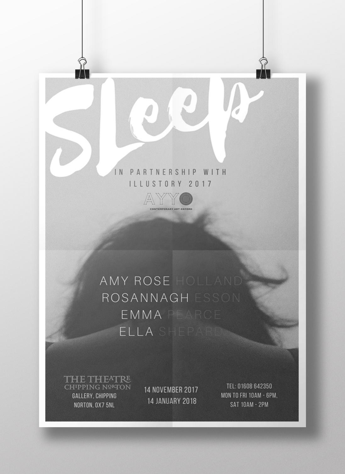 Sleep Exhibition - Artist Advertising