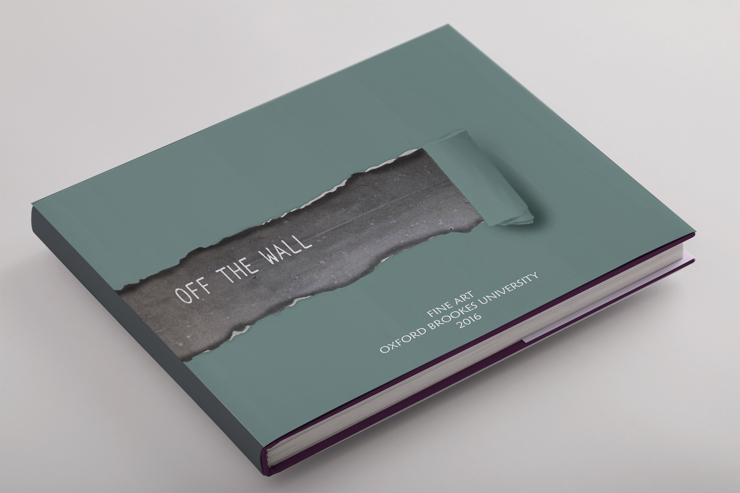 Off The Wall - Exhibition Branding