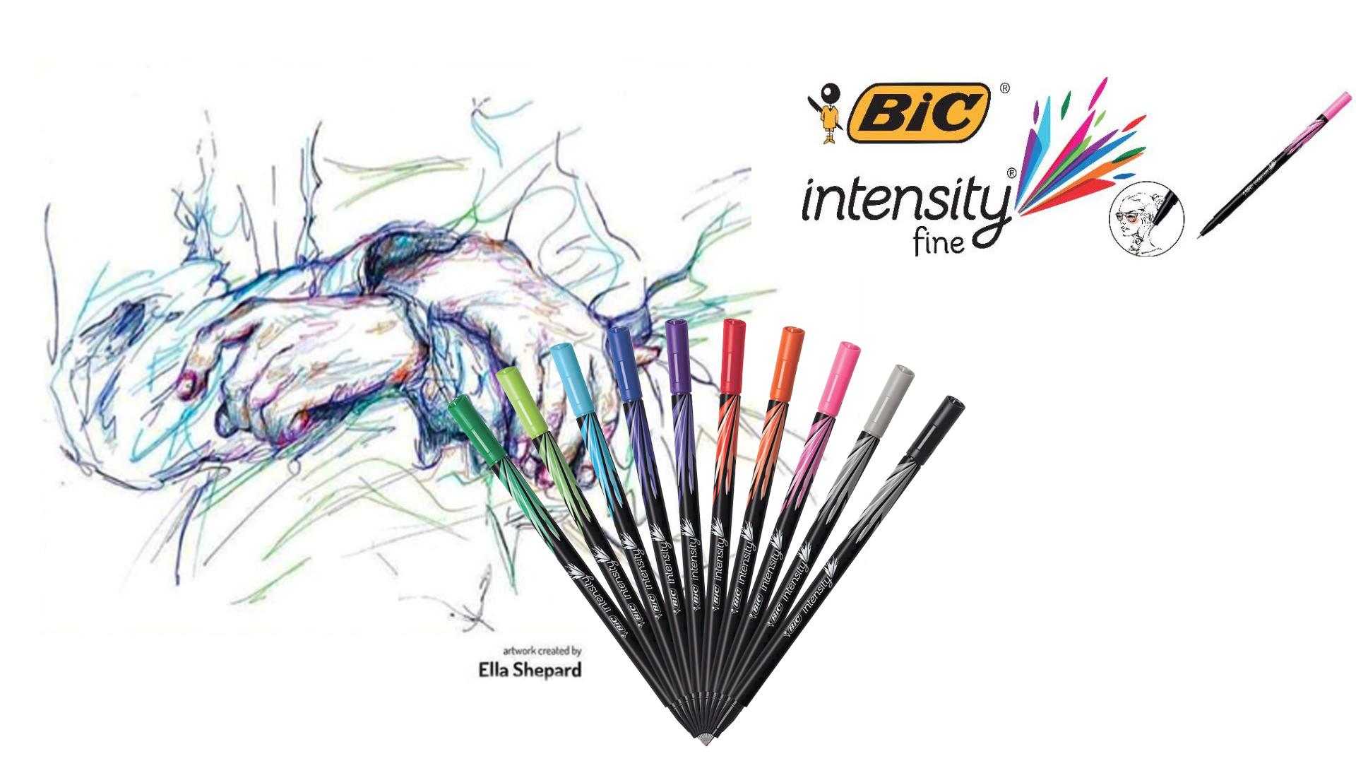 BiC Pen - Fine Liner Campaign