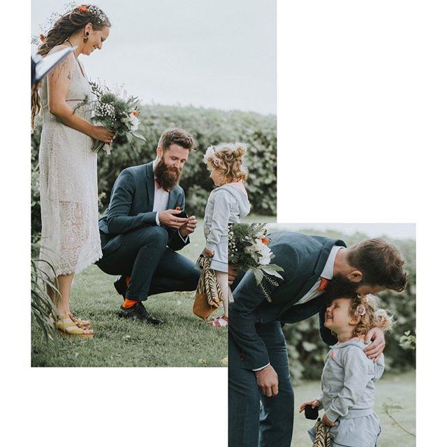 Blev minsann en och annan tår när världens sötaste lämnade över ringarna till sina föräldrar.❤️ Inte alltid lätt att jobba som bröllopsfotograf när man är extra blödig 😘